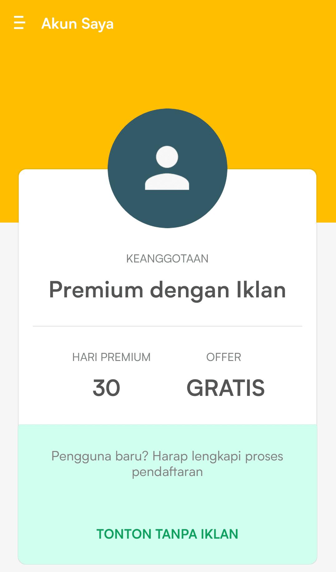 cara mendapatkan premium viu gratis