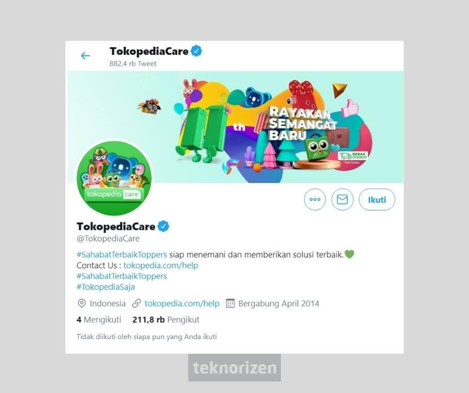 customer service tokopedia