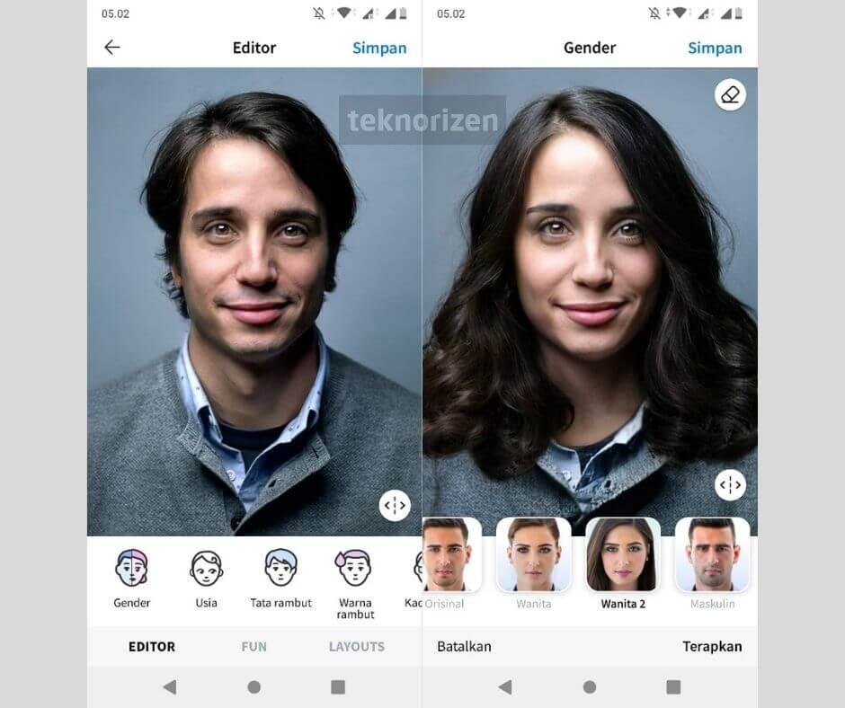 Filter Instagram Jadi Cewek
